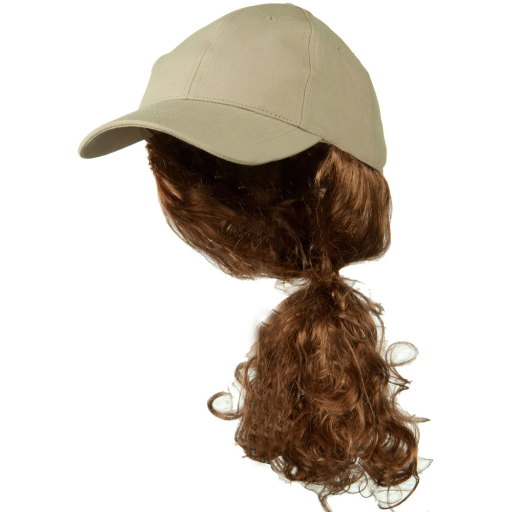 Auburn Pony Tail Twill Cap - Khaki - Hats and Caps Online Shop - Hip Head Gear