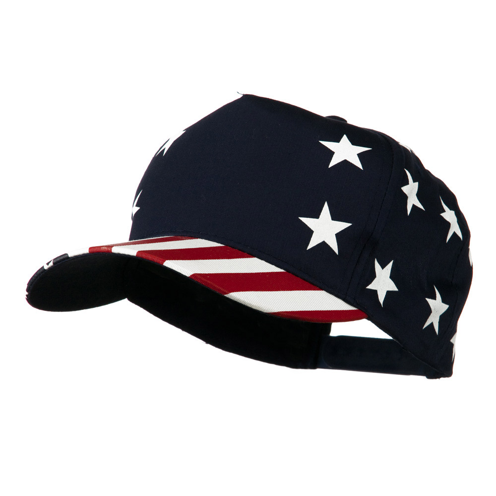 5 Panel USA Star Stripes Pro-Cap - Star Stripe - Hats and Caps Online Shop - Hip Head Gear