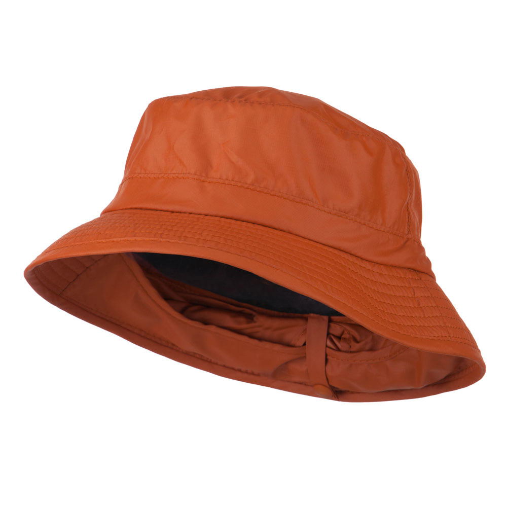 UPF 50+ Sun Block Bucket Flap Hat - Rust - Hats and Caps Online Shop - Hip Head Gear