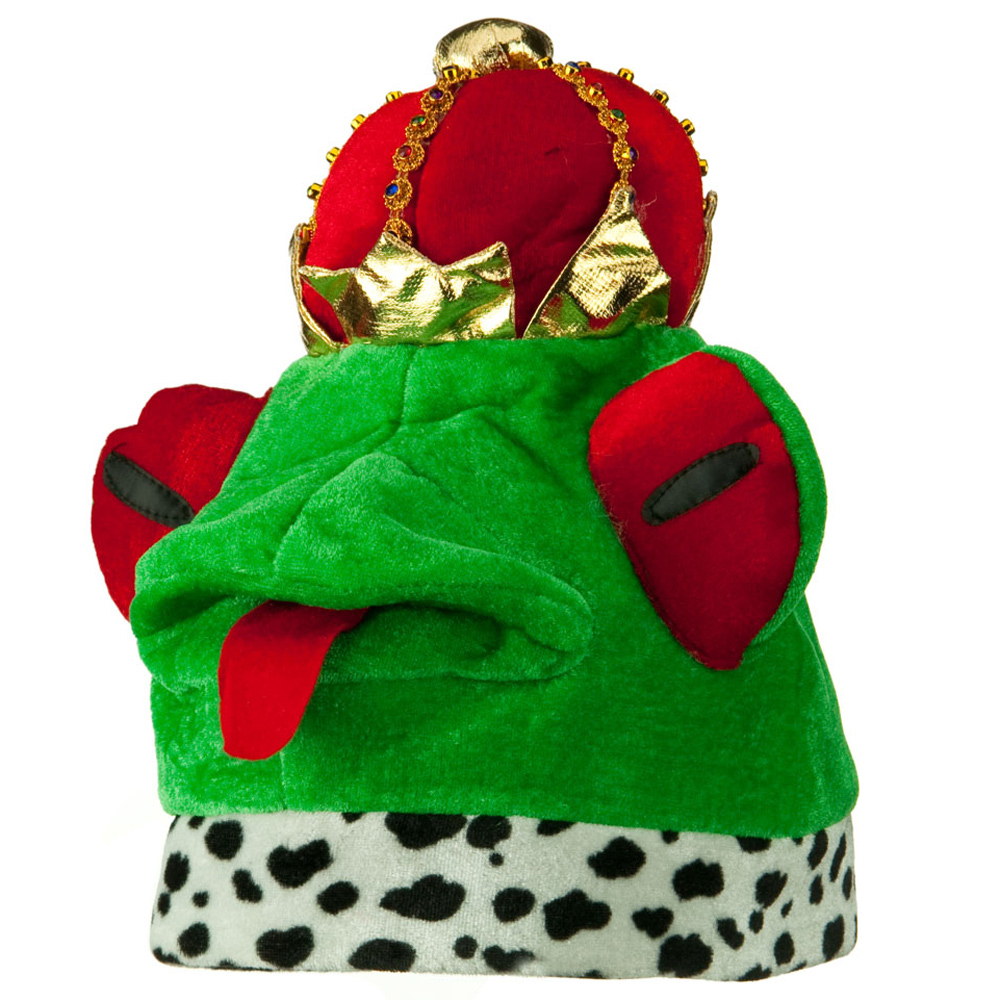 Velvet Animal Hat - Frog Prince - Hats and Caps Online Shop - Hip Head Gear