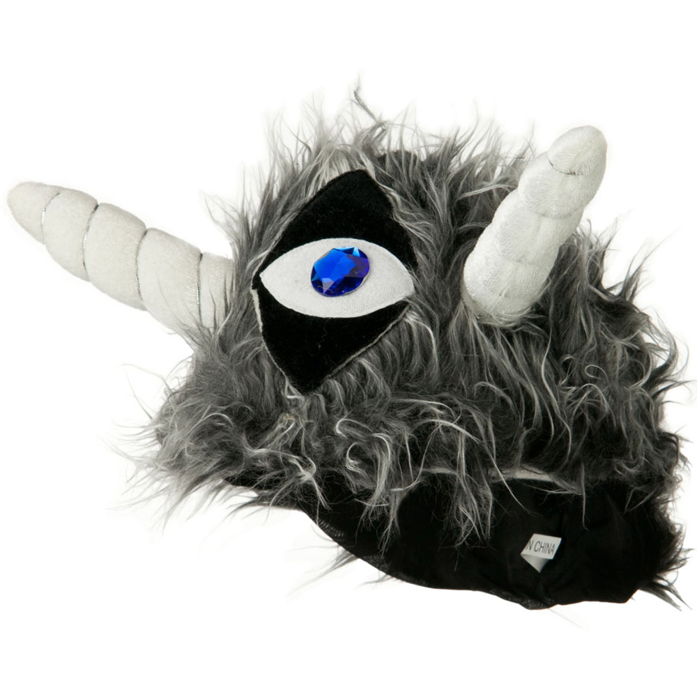Velvet Animal Hat - Ogre with Horns - Hats and Caps Online Shop - Hip Head Gear