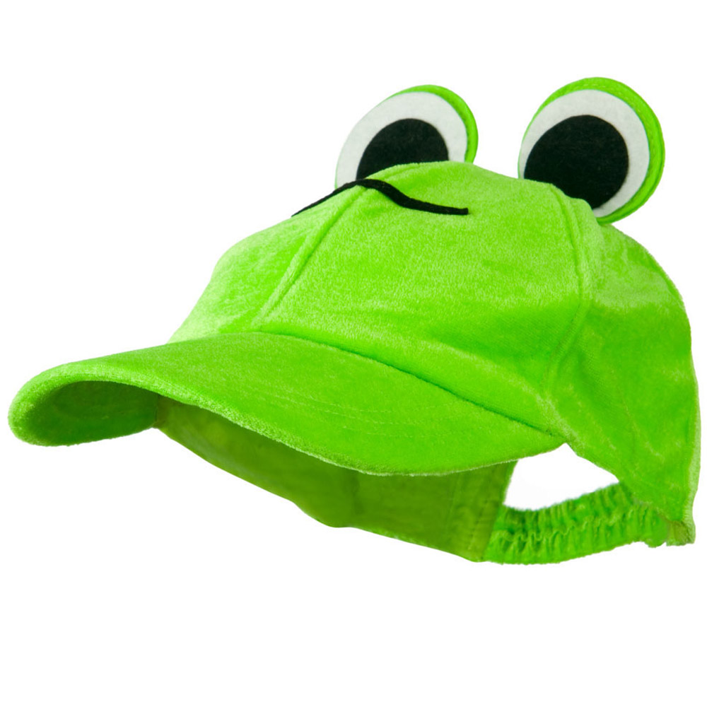 Velvet Animal Hat - Frog Cap - Hats and Caps Online Shop - Hip Head Gear