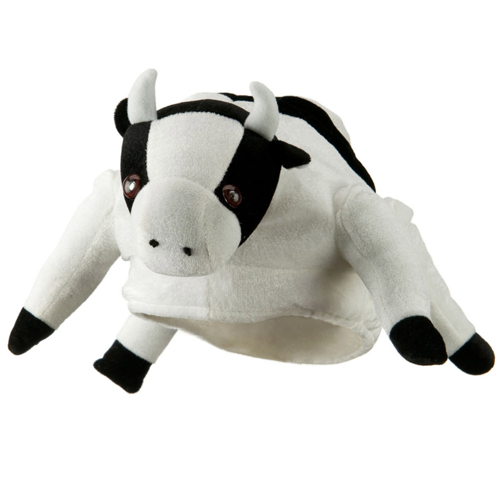 Velvet Animal Hat - Cow with Sound - Hats and Caps Online Shop - Hip Head Gear