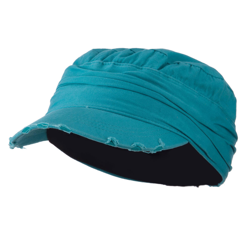 Vintage Army Cap - Turquoise - Hats and Caps Online Shop - Hip Head Gear