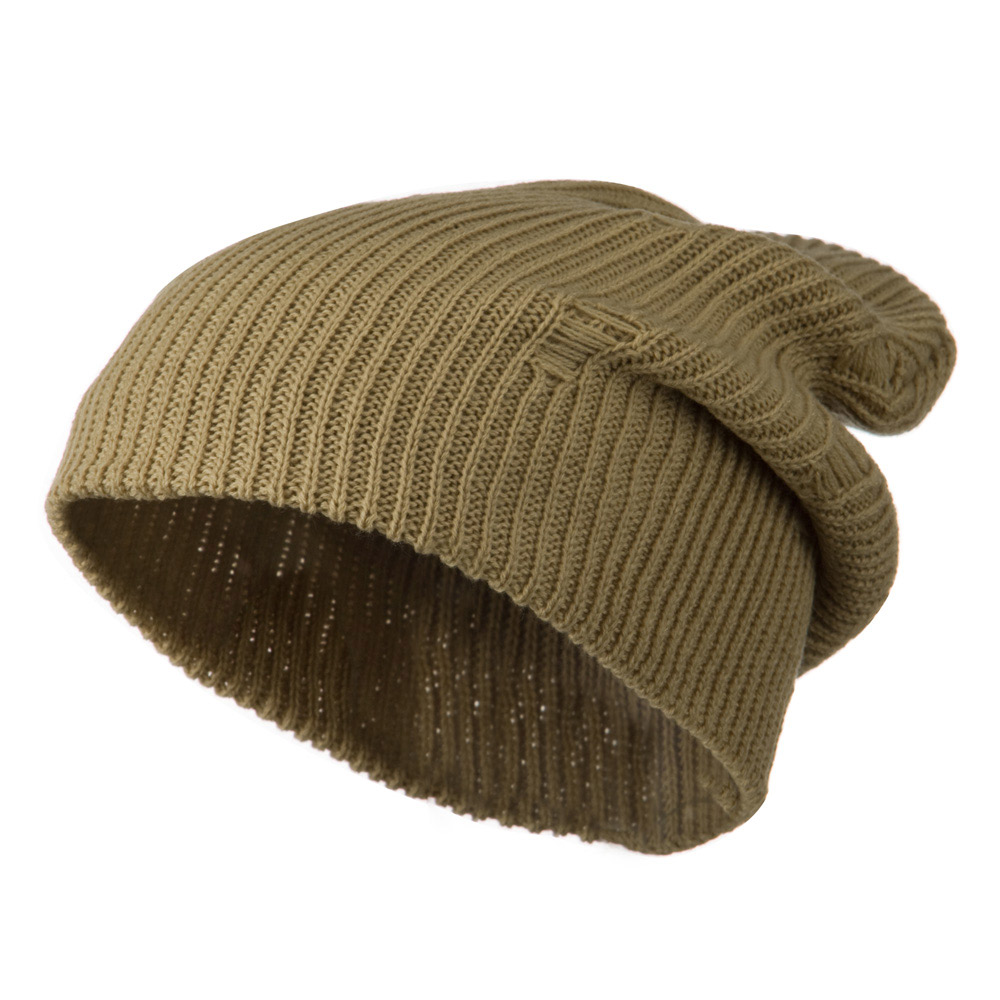 Vintage Deep Shell Beanie - Beige - Hats and Caps Online Shop - Hip Head Gear