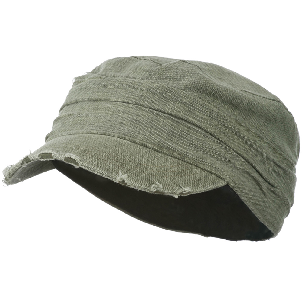 Vintage Frayed Army Cap - Olive - Hats and Caps Online Shop - Hip Head Gear