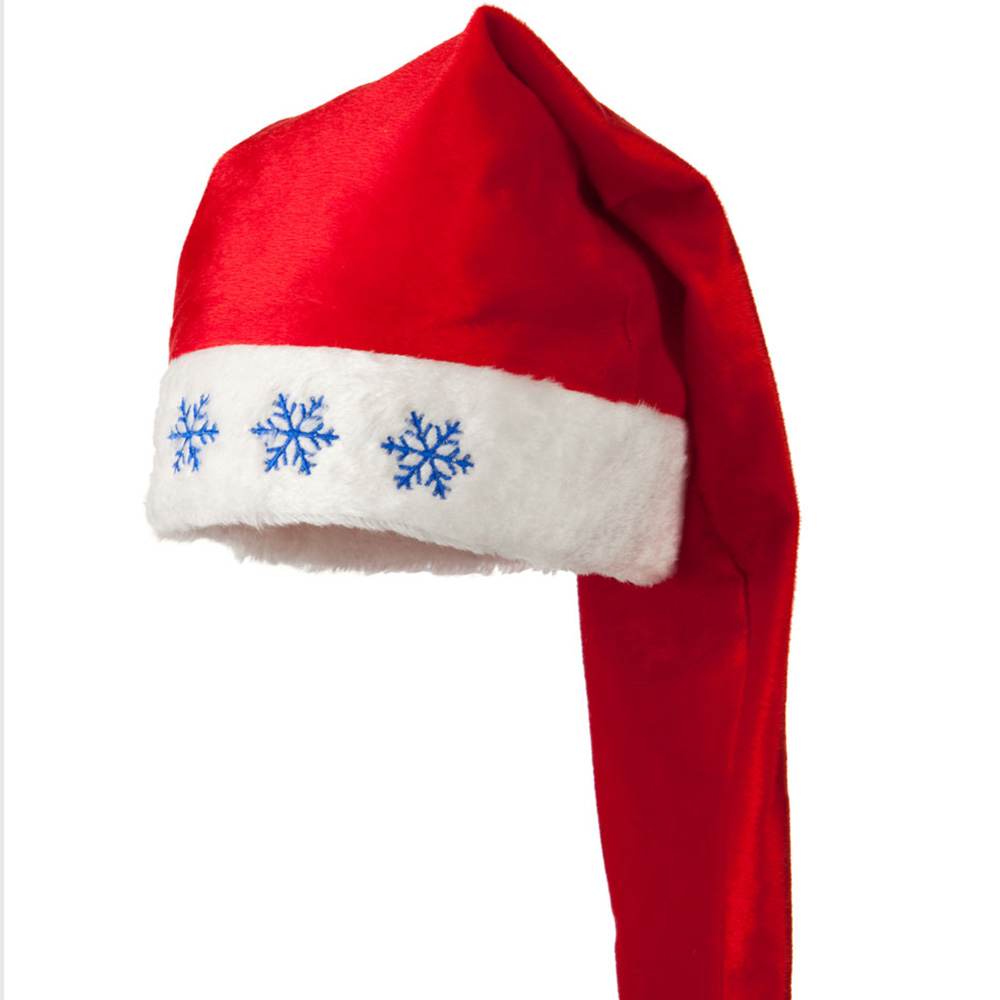 Oversized Light Up Santa Hat - Red White - Hats and Caps Online Shop - Hip Head Gear