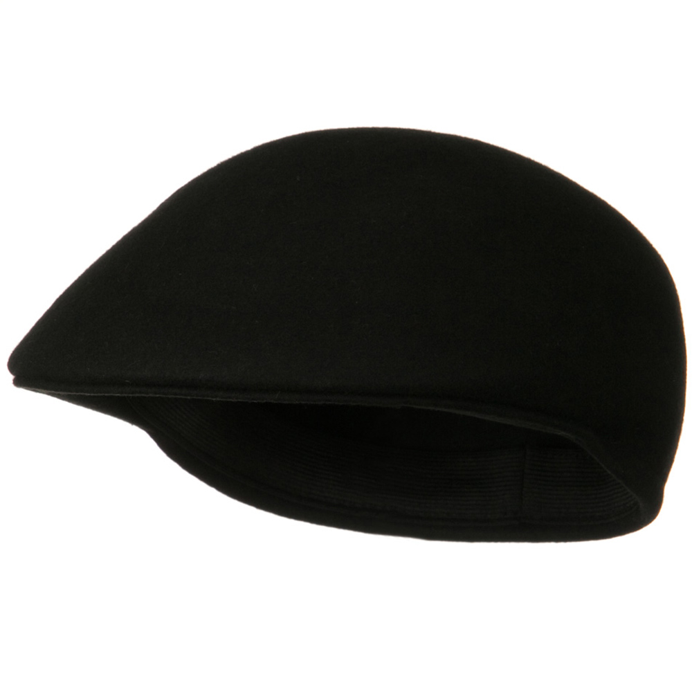 Wool Felt Ivy Cap - Black - Hats and Caps Online Shop - Hip Head Gear