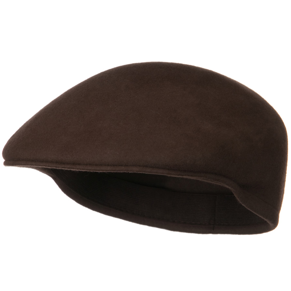 Wool Felt Ivy Cap - Brown - Hats and Caps Online Shop - Hip Head Gear