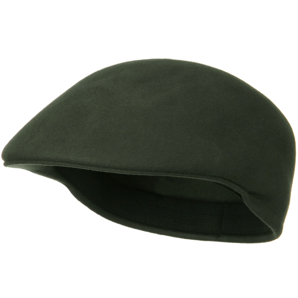 Wool Felt Ivy Cap - Olive Grey - Hats and Caps Online Shop - Hip Head Gear