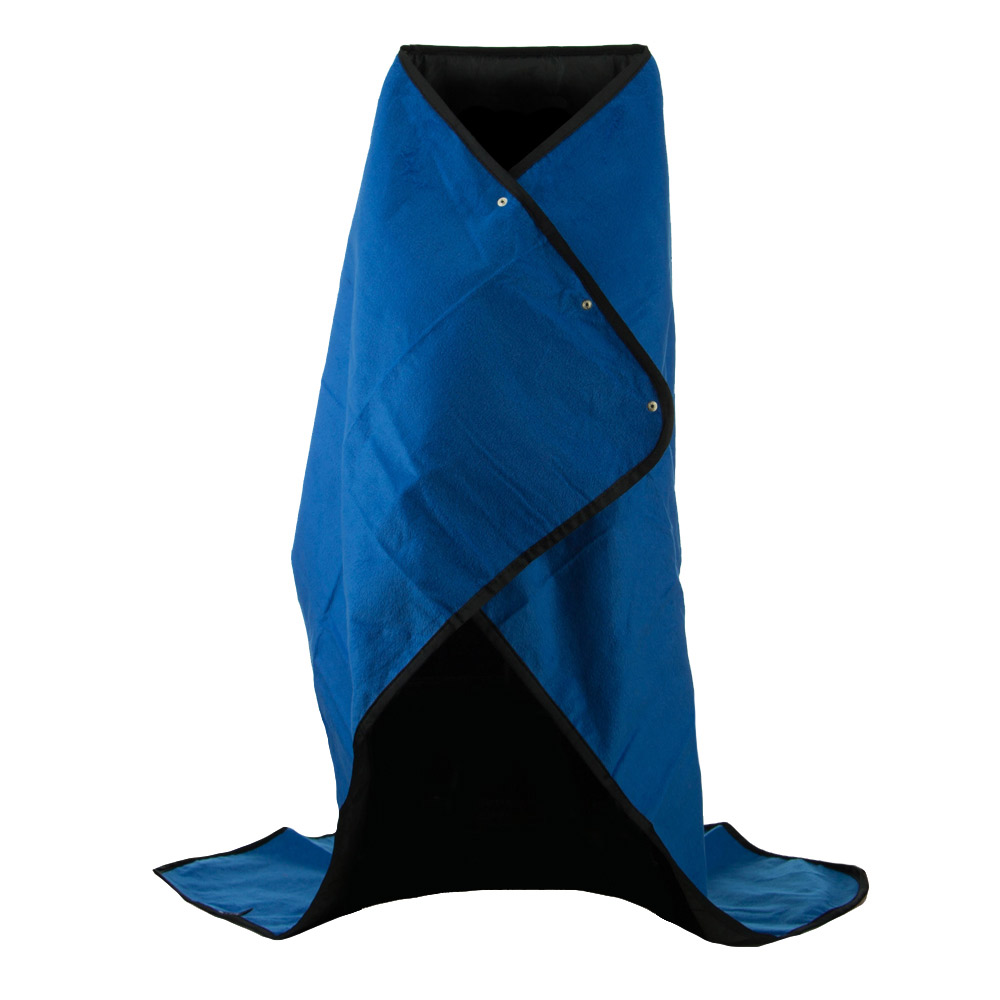 4 in 1 Multi Function Weather All Blanket - Royal