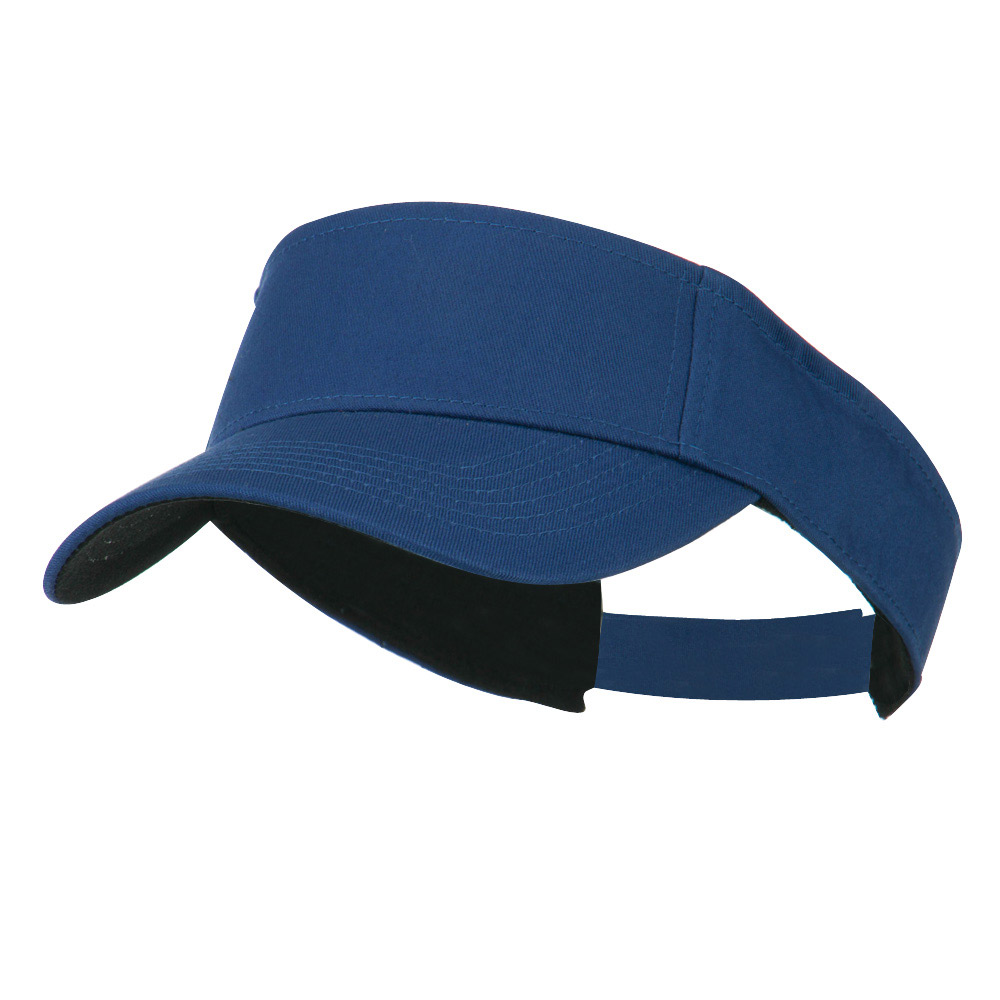 Ace Cotton Twill Visor - Royal - Hats and Caps Online Shop - Hip Head Gear