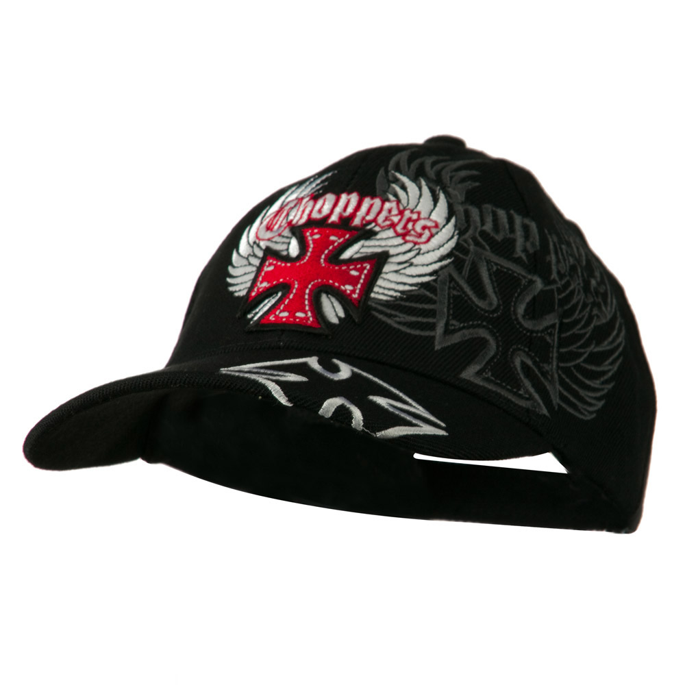 Wing Chopper Hat - Black - Hats and Caps Online Shop - Hip Head Gear