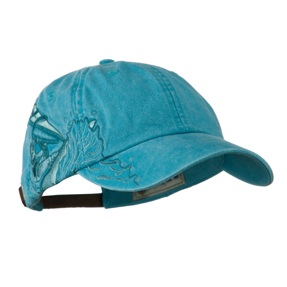 Wind Surfer Embroidered Design Cap - Caribbean Blue - Hats and Caps Online Shop - Hip Head Gear