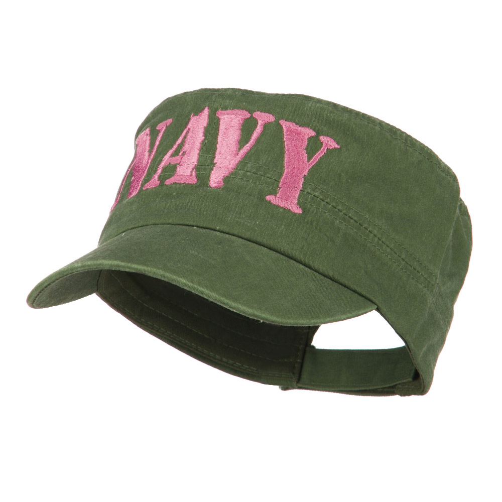 Women's Flat Top US Military Cap - Navy - Hats and Caps Online Shop - Hip Head Gear