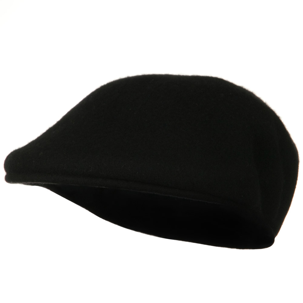 Wool Knit Ivy Cap-Black - Hats and Caps Online Shop - Hip Head Gear