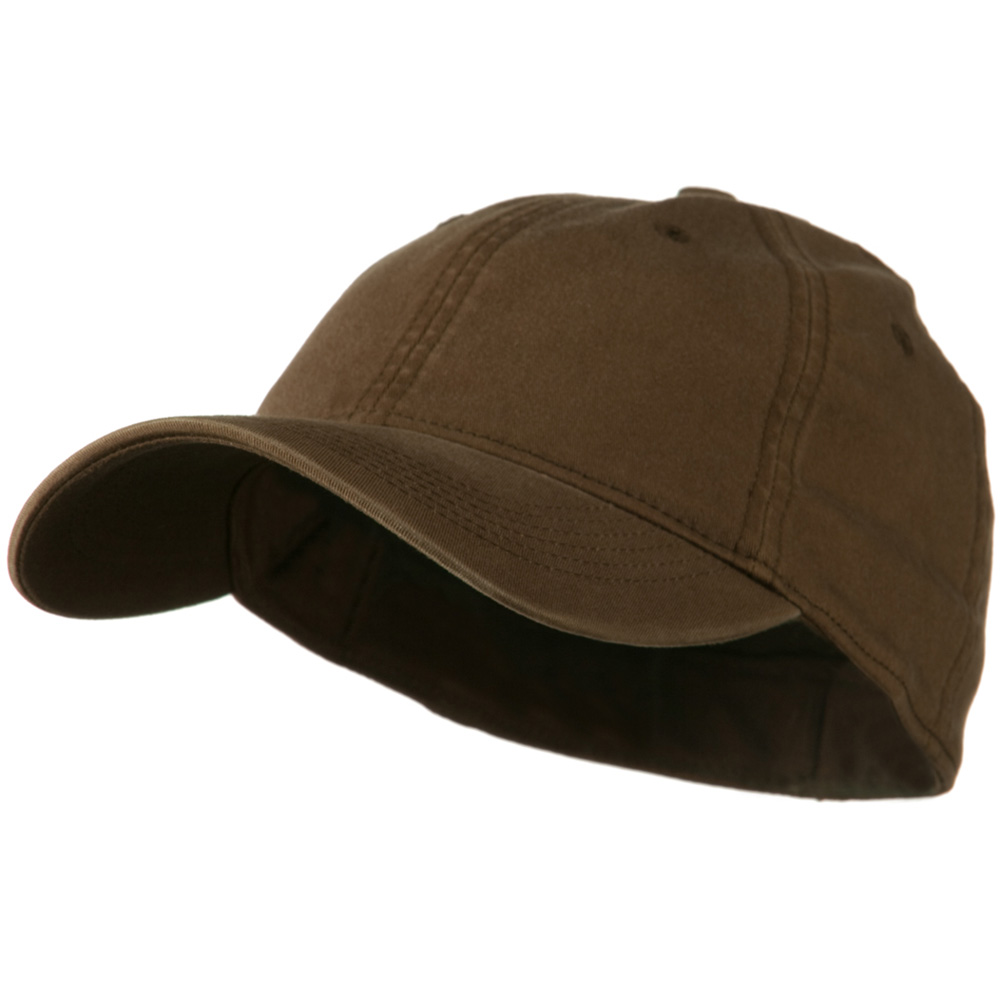 Washed Natural Fit Cap - Brown