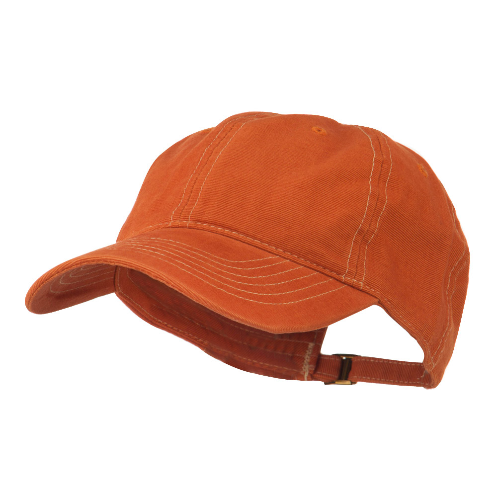 6 Panel Cotton Washed Cap - Copper - Hats and Caps Online Shop - Hip Head Gear