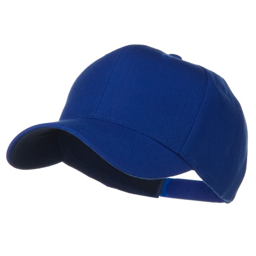 Youth Wool Pro Style Snapback Cap - Royal - Hats and Caps Online Shop - Hip Head Gear