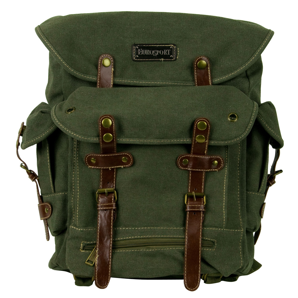 World War 2 Style Backpack - Olive