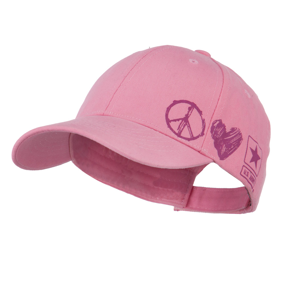 Youth US Army Military Cotton Cap - Pink - Hats and Caps Online Shop - Hip Head Gear