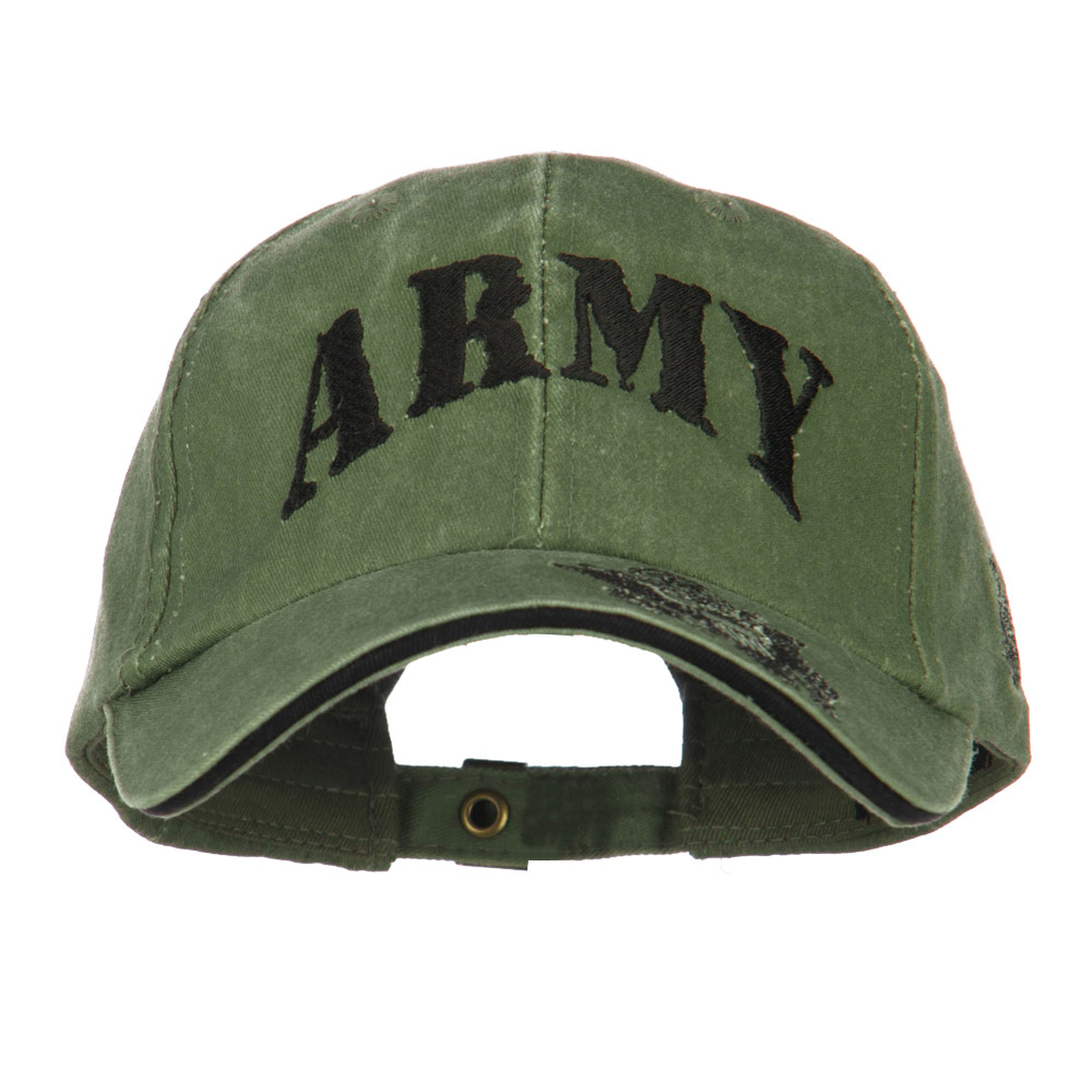 Youth US Army Military Cotton Cap - Green - Hats and Caps Online Shop - Hip Head Gear