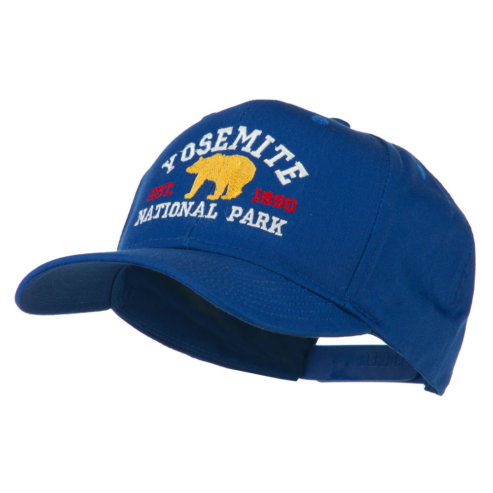 Yosemite National Park Embroidered Cap - Royal - Hats and Caps Online Shop - Hip Head Gear