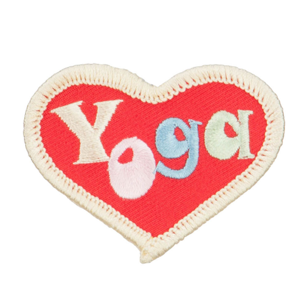 Yoga Pose Patches - Red