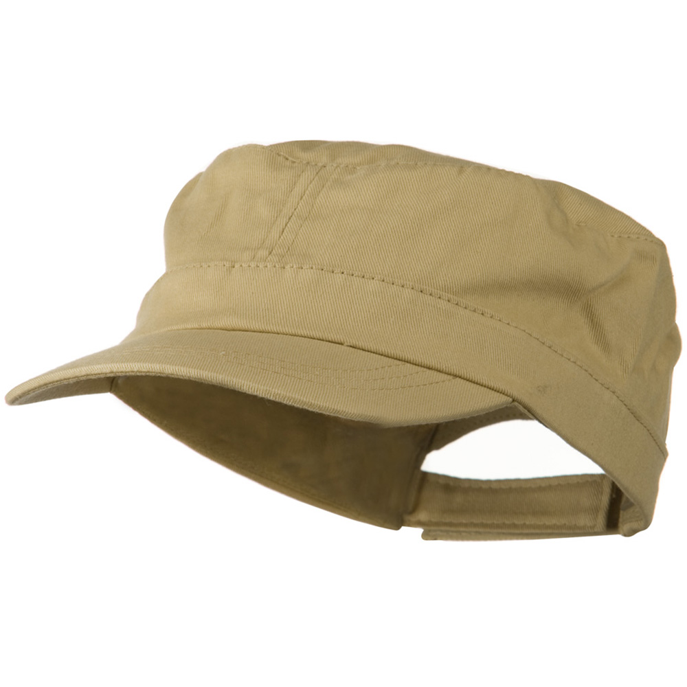Youth Twill Army Cap - Khaki - Hats and Caps Online Shop - Hip Head Gear