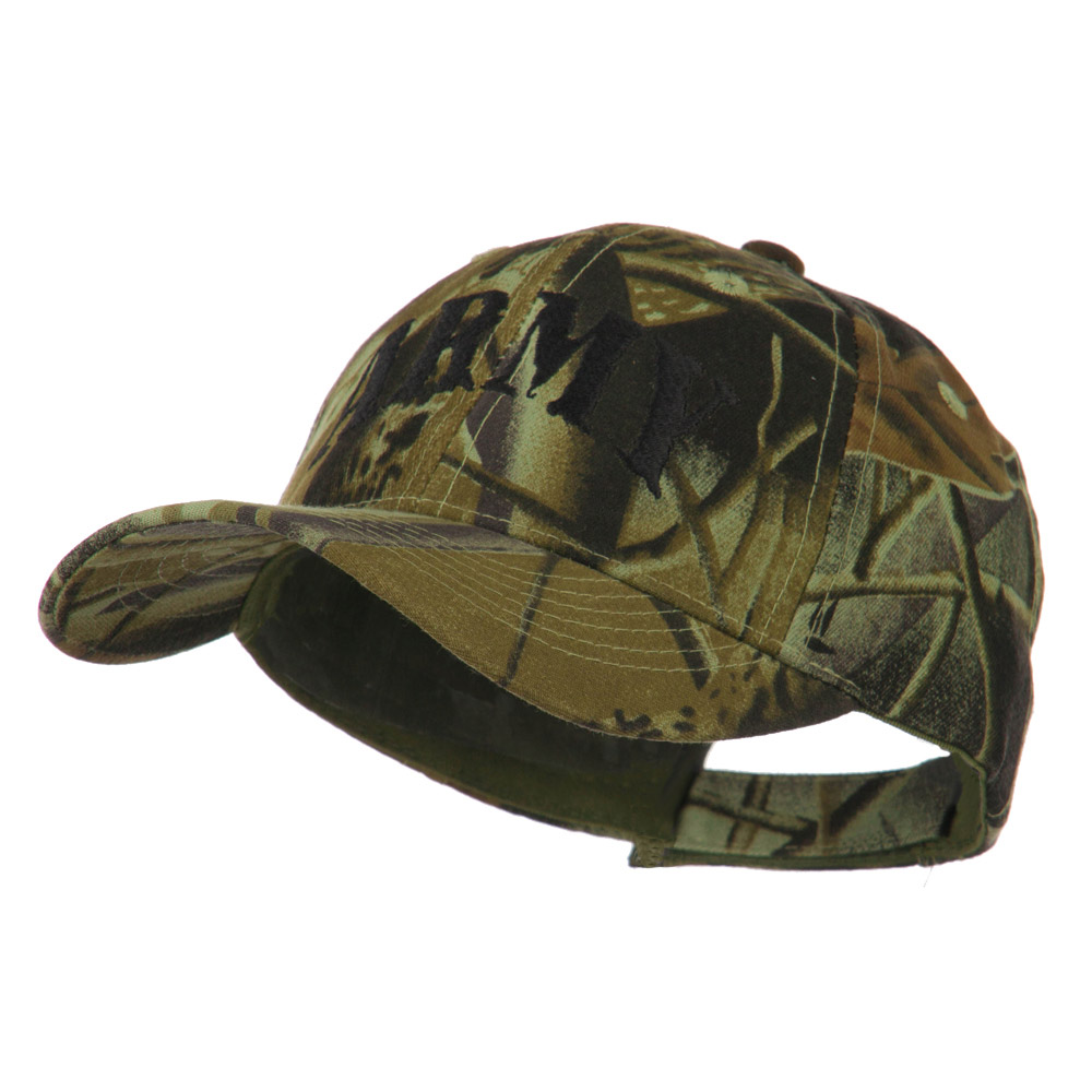 Youth US Military Hunting Leaf Fabric Cap - Army - Hats and Caps Online Shop - Hip Head Gear