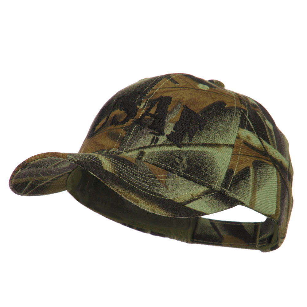 Youth US Military Hunting Leaf Fabric Cap - USAF - Hats and Caps Online Shop - Hip Head Gear