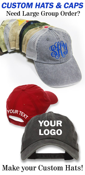 Customize your hats