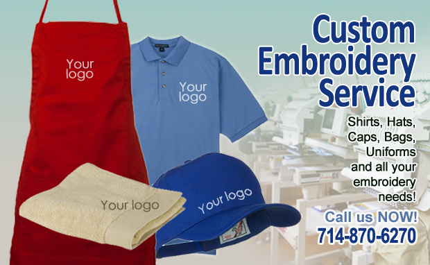 Custom Embroidery Service