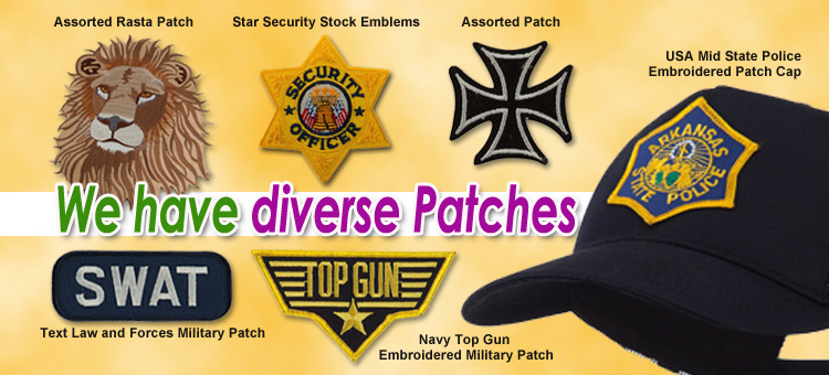 We have diverse Patches