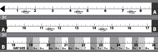How to measure hat cap and your head size e4hats