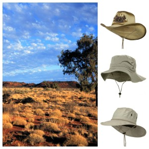 outback and cowboy hats