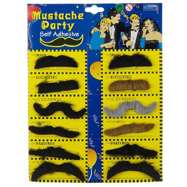 Fake Mustaches Costume | Halloween Costume | e4Hats.com