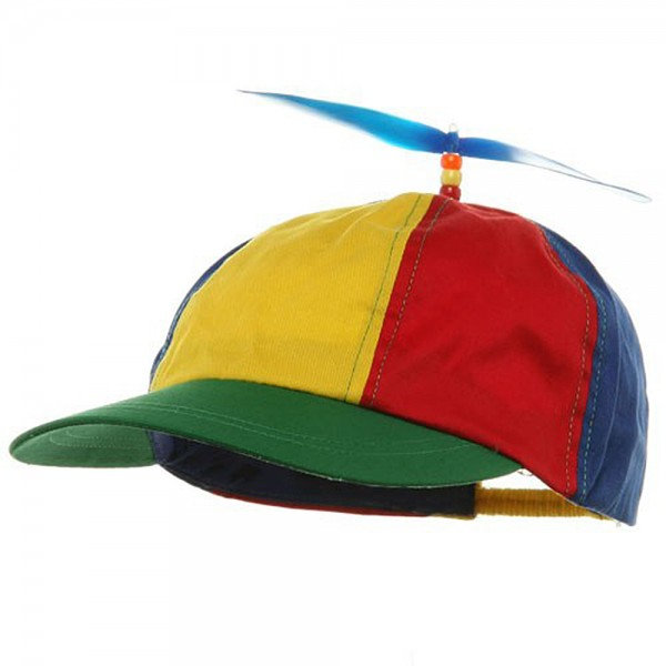 Youth Propeller Cotton Cap - Multi Color