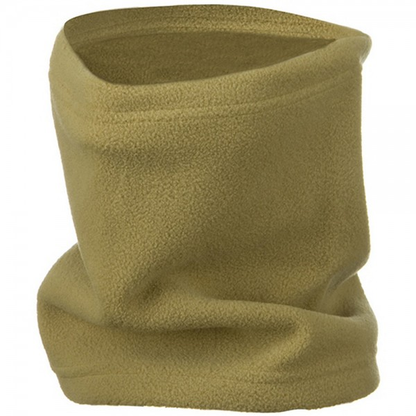 2 in 1 Neck Warmer with String - Camel
