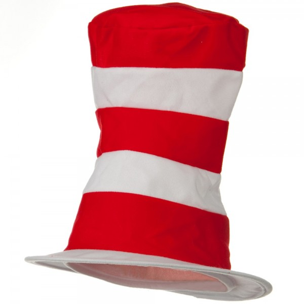 Dr. Seuss Regular Hat - Red White