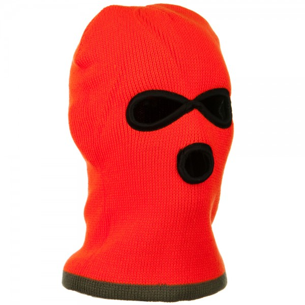 Heavy Weight Reversible Ski Mask - Olive
