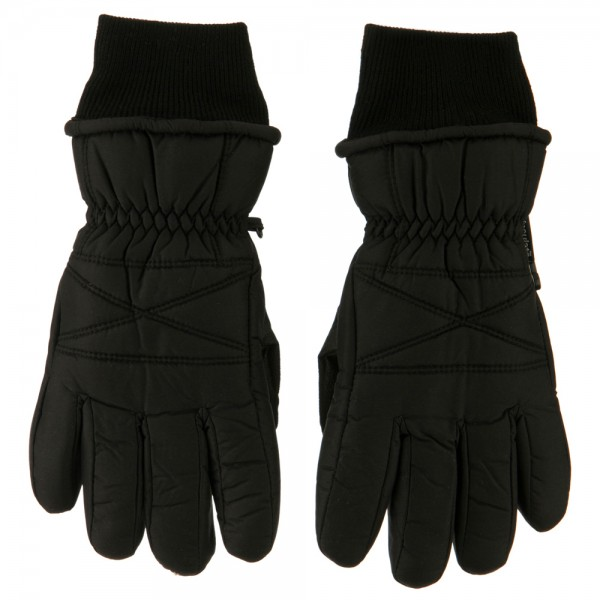 Men's Thinsulate Sport Ski Gloves - Black
