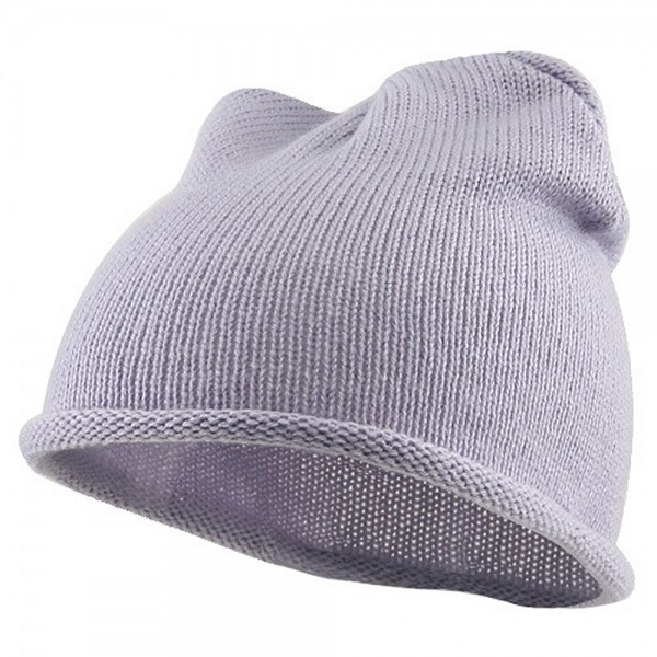 Children Knitting Hat - Light Purple