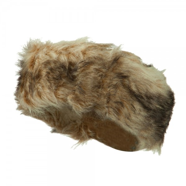 Assorted Patterns Fur Headband - Fox