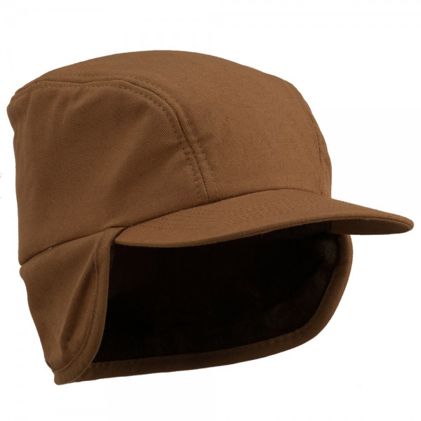 Duck Work Earflap Cap - Brown