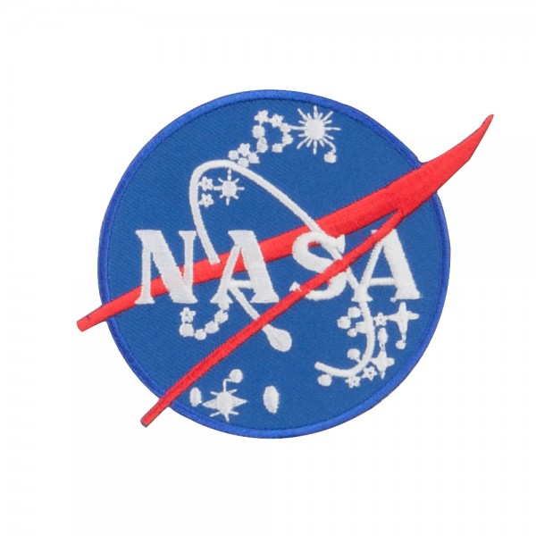 NASA and Apollo Military Patch - Black Navy
