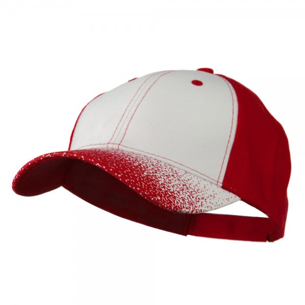 Blitz Cap - Red White