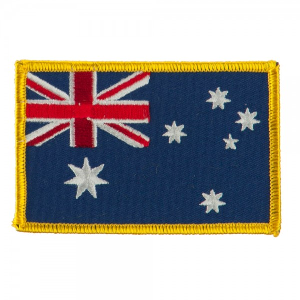 Asia Flag Embroidered Patches - Australia