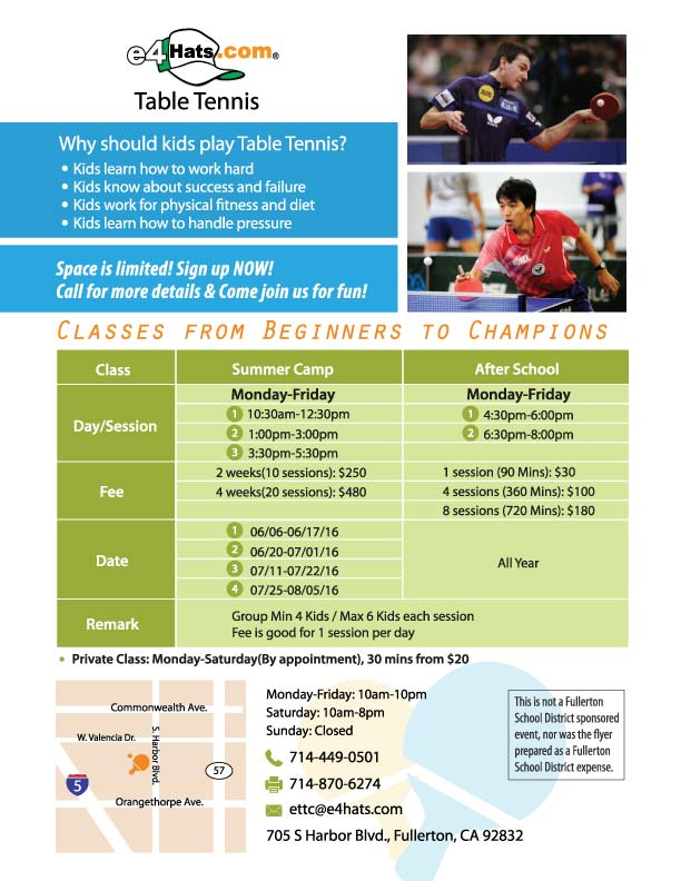 Kids TTC Classes Orange County