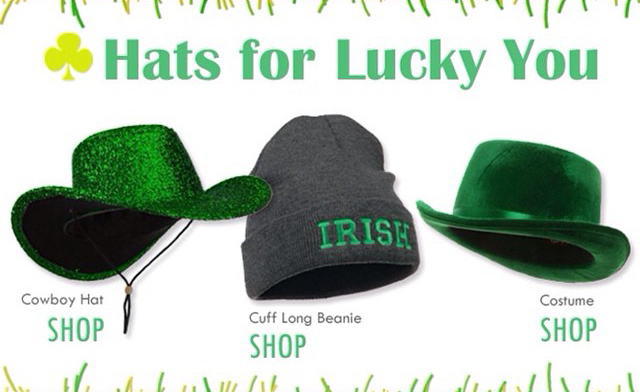 Hats for Lucky You